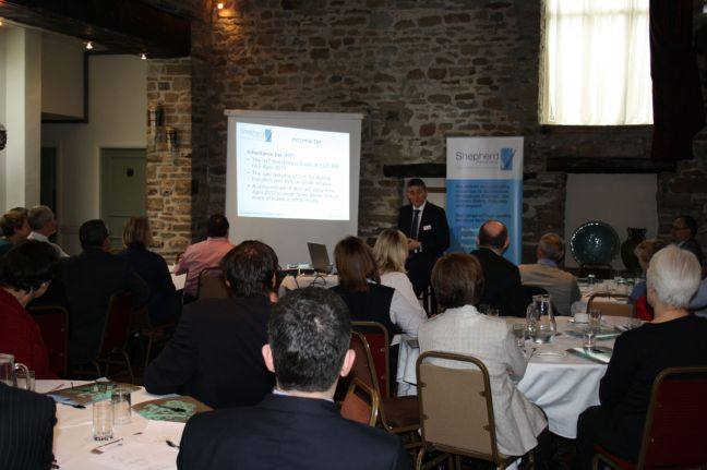 The Shepherd Partnership Business Seminar 2011