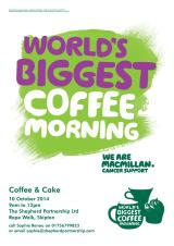 Macmillan Coffee Morning at Shepherd Partnership