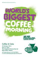Macmillan Coffee Morning at ShepherdPartnership